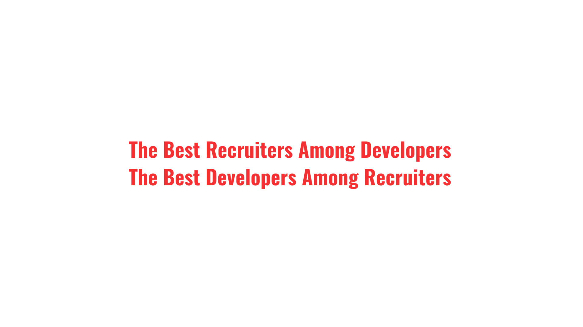 Tech Recruitment Blog